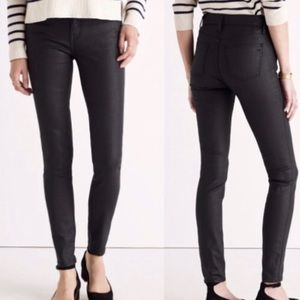 Madewell Faux Leather Skinny Skinny Pants- 8/M